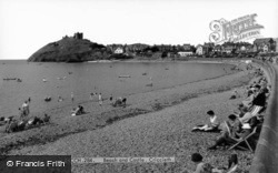Beach And Castle c.1960, Criccieth