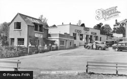Criccieth, Beach Cafe c.1955