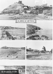 Criccieth, Composite c.1950