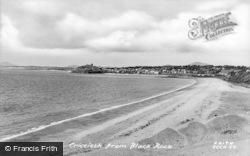 Criccieth, From Black Rock c.1955