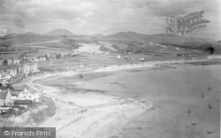 Criccieth, From Castle 1931