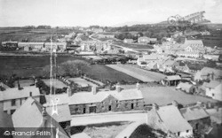 Criccieth, From The Castle 1889