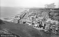 Criccieth, From The Castle 1935