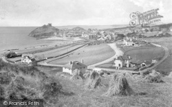 Criccieth, From The East 1931