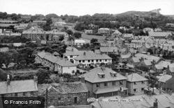 General View c.1955, Criccieth