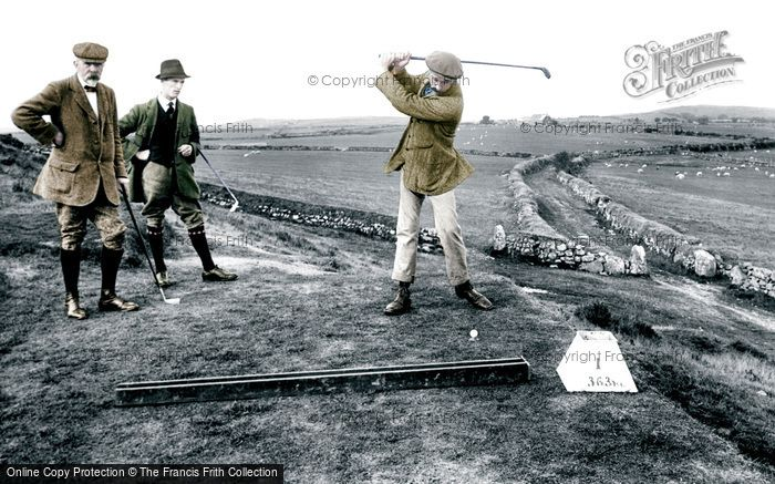 Criccieth, Golf Club 1913