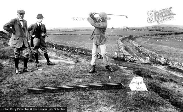 Photo of Criccieth, Golf Club, First Tee 1913