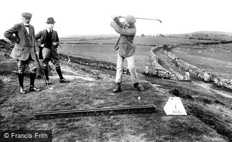 Criccieth, Golf Club, First Tee 1913