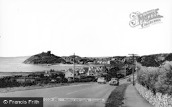 Criccieth, Harbour And Castle c.1960