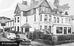 Henfaes Hotel c.1960, Criccieth