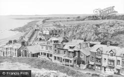 Criccieth, Marine Crescent c.1955