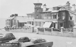 Criccieth, Marine Hotel c.1960