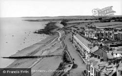 Marine Terrace c.1955, Criccieth
