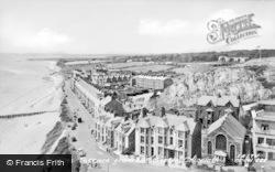 Criccieth, Marine Terrace c.1955