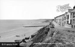Criccieth, Marine Terrace c.1960
