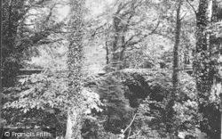 Criccieth, Rhydycroesan Bridge c.1930