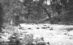 Criccieth, River Dwyfach c.1931