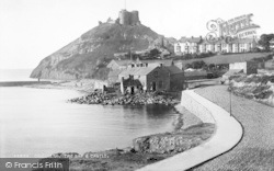 Criccieth, The Bay And Castle 1899