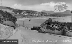 The Beach c.1955, Criccieth