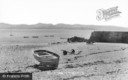 Criccieth, The Beach c.1955