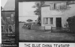 Criccieth, The Blue China Teashop c.1950