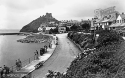 Criccieth, The Castle 1940