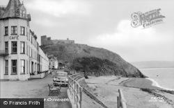 Criccieth, The Promenade c.1955
