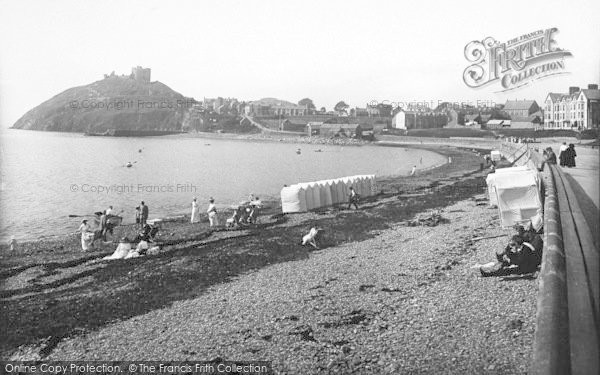 Photo of Criccieth, The Sands And Parade 1913