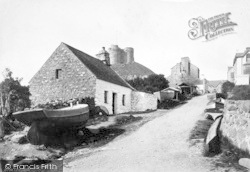 Criccieth, The Village 1889