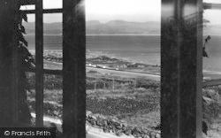 Criccieth, View From Henfaes Private Hotel c.1950