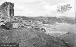Criccieth, View From The Castle 1913