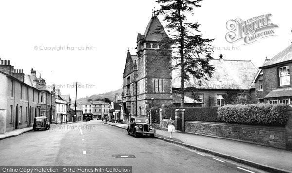 Crickhowell, Beaufort Street c1955