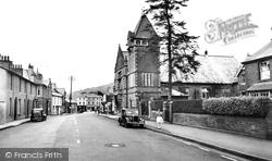 Crickhowell, Beaufort Street c.1955