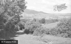 Crickhowell, From Mountain Path 1939