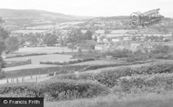 Crickhowell, General View 1951