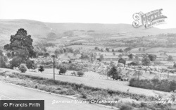Crickhowell, General View c.1955