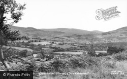 Crickhowell, General View c.1960