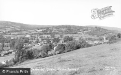 Crickhowell, General View c.1965