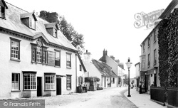 Crickhowell, High Street 1898