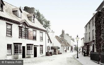 Crickhowell, High Street 1898