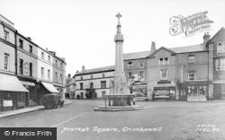 Crickhowell, Market Square c.1955