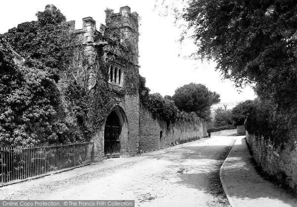 Crickhowell, Porthmawr Gate 1898