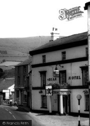 Crickhowell, The Bear Hotel c.1965