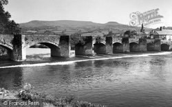 Crickhowell, The Bridge c.1960