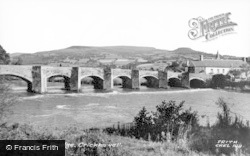 Crickhowell, The Bridge c.1965