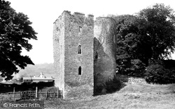 Crickhowell, The Castle 1893