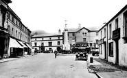 Crickhowell, the Market Place 1931