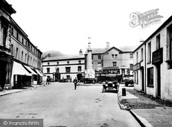 Crickhowell, The Market Place c.1930