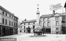 Crickhowell, The Town Centre 1898