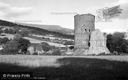 Crickhowell, Tretower Castle And Table Mountain 1951